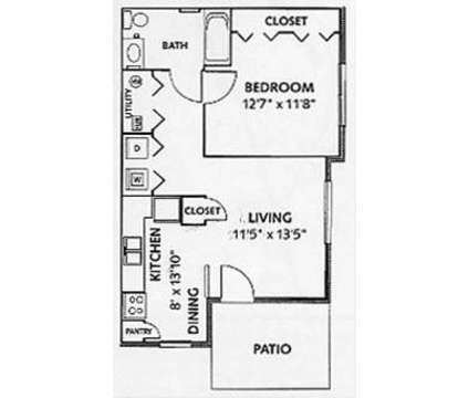 1 Bed - Imperial Pointe Townhomes at 101 Imperial Pointe in Nicholasville KY is a Apartment