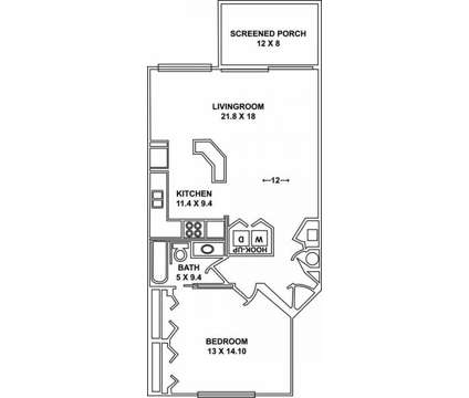 1 Bed - St. Lucie Oaks at 380 Brazilian Cir in Port Saint Lucie FL is a Apartment