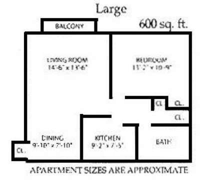 1 Bed - Sherwood Forest at 525 Georgetown in Elyria OH is a Apartment