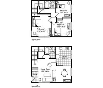 3 Beds - Ginger Ridge Apartments at 1954 Memorial Dr in Calumet City IL is a Apartment