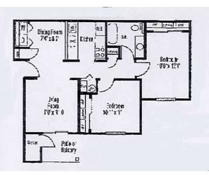 2 Beds - Shady Knoll at 200 Knoll Cir in Crawfordsville IN is a Apartment