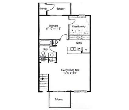 1 Bed - Autumn Woods at 100 Aspen Dr in Crawfordsville IN is a Apartment