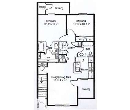 2 Beds - Autumn Woods at 100 Aspen Dr in Crawfordsville IN is a Apartment