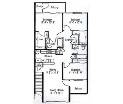 3 Beds - Autumn Woods at 100 Aspen Dr in Crawfordsville IN is a Apartment