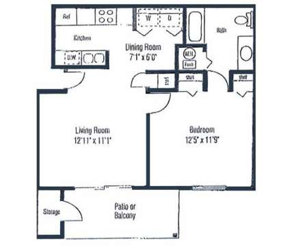 1 Bed - Lyons Gate at 8310 Lyons Gate Way in Miamisburg OH is a Apartment