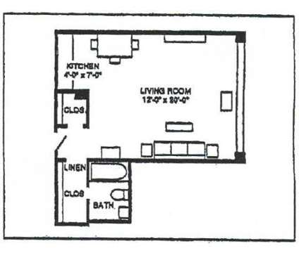 Studio - The Apartments@1220 at 1220 North Broad St in Philadelphia PA is a Apartment