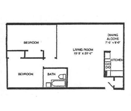 2 Beds - The Apartments@1220 at 1220 North Broad St in Philadelphia PA is a Apartment