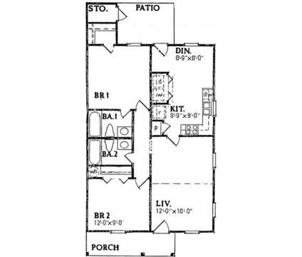 2 Beds - Candlewood Apartments at 401 Brook St in Clayton NC is a Apartment