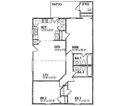 3 Beds - Candlewood Apartments at 401 Brook St in Clayton NC is a Apartment