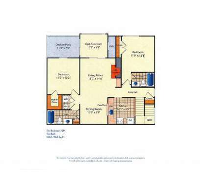 2 Beds - Bowling Brook Apartments at 9000 Stebbing Way in Laurel MD is a Apartment