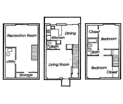 2 Beds - Bellecote Townhouse Apartments at 10275 Canter Way in Overland MO is a Apartment