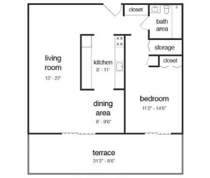 1 Bed - Chestnut Hill Tower at 7600 Stenton Ave in Philadelphia PA is a Apartment