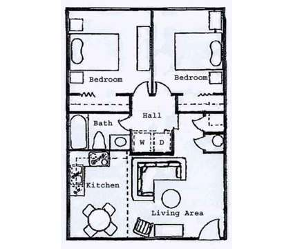 2 Beds - Wesley South at East Carolina at 108 Brownlea Drive Suite A in Greenville NC is a Apartment