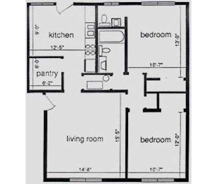 2 Beds - Garden Courts Apartments at 1001 Francis Drive in Champaign IL is a Apartment
