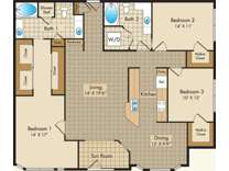 3 Beds - Liberty Place