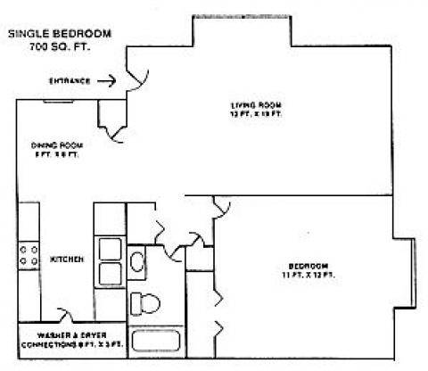 1 bed village station 1712 india hook rd rock hill sc 1 bedroom apartments in rock hill sc