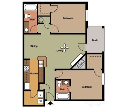2 Beds - Burlington Oaks at 6060 Taylor Dr in Burlington KY is a Apartment