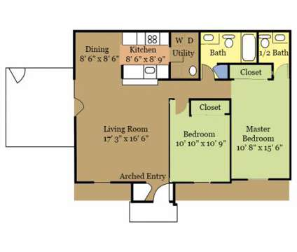 2 Beds - McMillen Woods at 95 South Westmoor Avenue in Newark OH is a Apartment