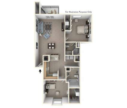 2 Beds - Indian Lakes Apartments at 5726 Seneca Dr in Mishawaka IN is a Apartment