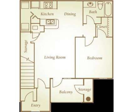 1 Bed - Central Park Apartment Homes at 2400 Central Parkway in Montgomery AL is a Apartment