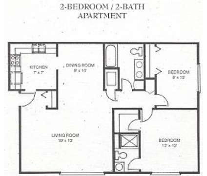 2 Beds - Stonehenge Gates Apartments at 1171 Ramsgate Rd in Flint MI is a Apartment