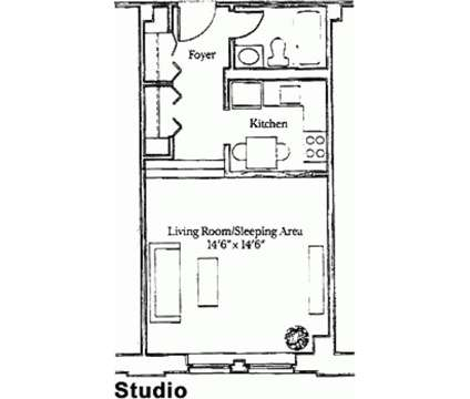 Studio - The Anchorage at 103 Ninth St in Boston MA is a Apartment