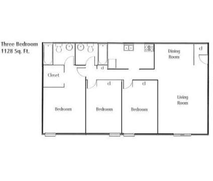 3 Beds - Bardstown Forest Apartments at 2041 Shady Grove Way in Louisville KY is a Apartment