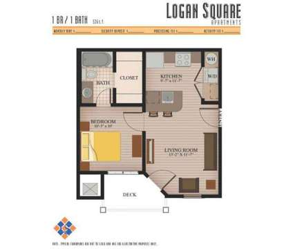 1 Bed - Logan Square Apartments at 733 West Glenn Avenue in Auburn AL is a Apartment