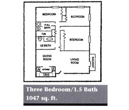 3 Beds - The Legacy at 5515 Hunt Club Ln in Louisville KY is a Apartment