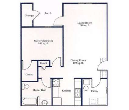 1 Bed - Canterbury House Apartments at 690 Dragonfly in Kalamazoo MI is a Apartment