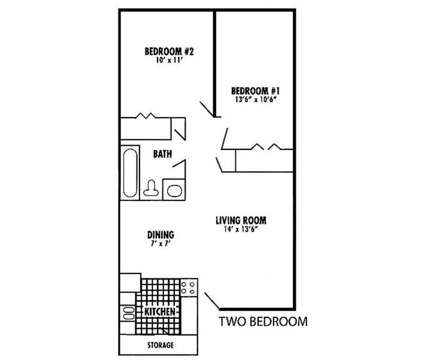 2 Beds - Breton Court at 4705 North Breton Ct in Kentwood MI is a Apartment