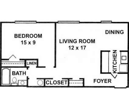 1 Bed - Georgetown South Apartments at 1855 Shoshone Dr in Lafayette IN is a Apartment