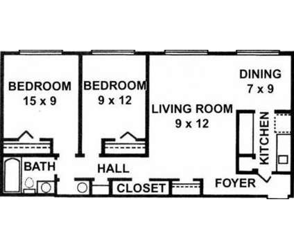 2 Beds - Georgetown South Apartments at 1855 Shoshone Dr in Lafayette IN is a Apartment