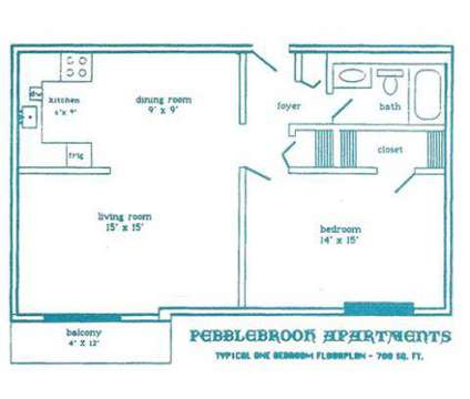 1 Bed - Pebblebrook Apartments at 46 Brittany Farms Road in New Britain CT is a Apartment