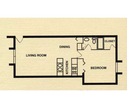 1 Bed - University Park Apartments at 2207 James Pirtle Ct in Louisville KY is a Apartment