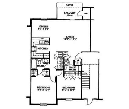 2 Beds - Eastlake Woods at 1020 Thicket Ct in Columbus IN is a Apartment