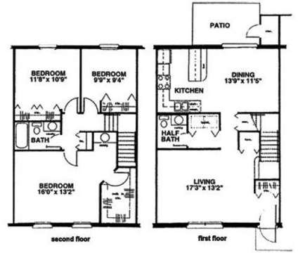3 Beds - Eastlake Woods at 1020 Thicket Ct in Columbus IN is a Apartment