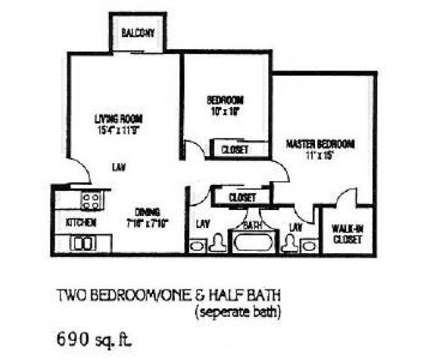 2 Beds - The Views of Mt. Airy at 2992 High Forest Lane in Cincinnati OH is a Apartment