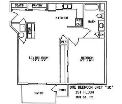 1 Bed - BriarPark Apartments at 11405 Corby Plaza in Omaha NE is a Apartment