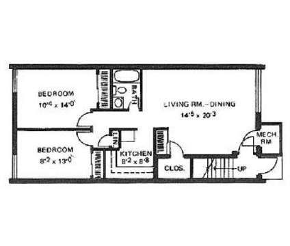 2 Beds - Brinton Manor at 3000 Locust St in Pittsburgh PA is a Apartment