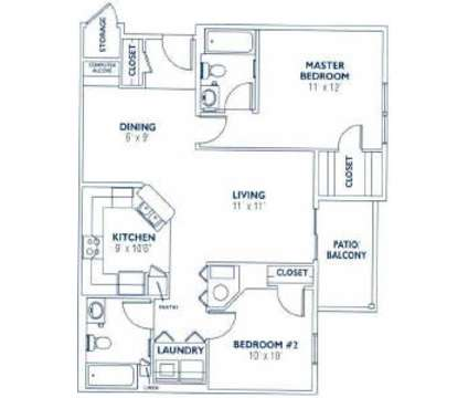 2 Beds - Fieldstone Apartments at 15528 West 133rd St in Olathe KS is a Apartment
