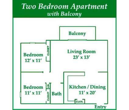 2 Beds - Park Lane Circle Apartments at 357 Park Ln Cir #6 in Lockport NY is a Apartment