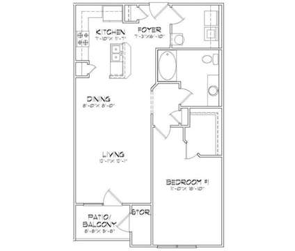 1 Bed - The Plantation at Jacksonville at 5116 Western Boulevard in Jacksonville NC is a Apartment