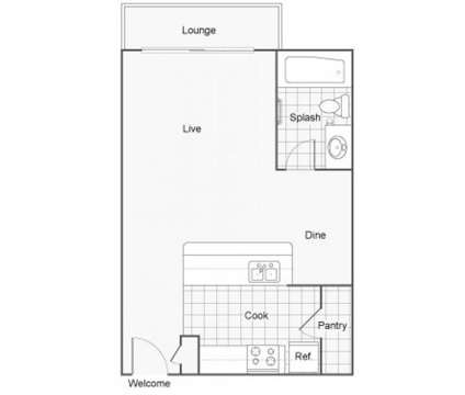 Studio - The Row at 25426 98th Ave South in Kent WA is a Apartment