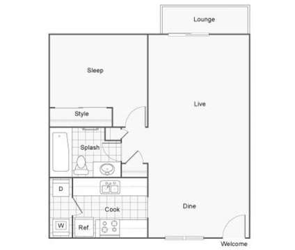 1 Bed - The Row at 25426 98th Ave South in Kent WA is a Apartment