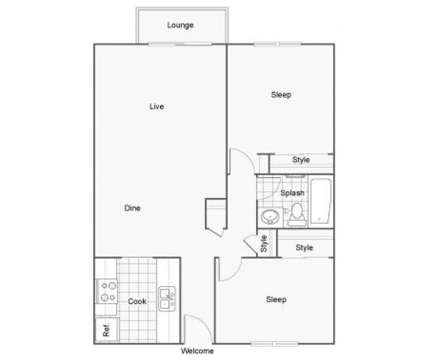 2 Beds - The Row at 25426 98th Ave South in Kent WA is a Apartment