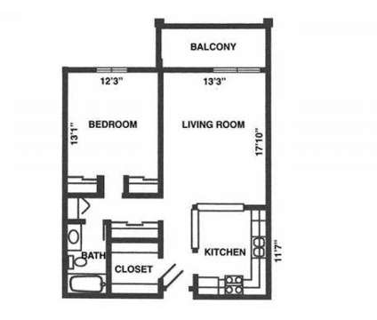 1 Bed - Pondview Apartments at 2565 Ivy Ave East in Maplewood MN is a Apartment