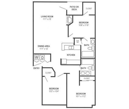 3 Beds - Pacific Heights Apartment Homes at 33311 18th Ln S in Federal Way WA is a Apartment