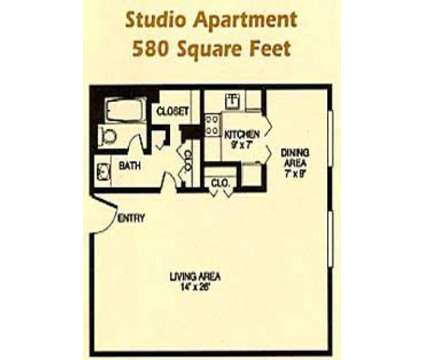 Studio - 3000 Grand Apartments at 3000 Grand Ave in Des Moines IA is a Apartment