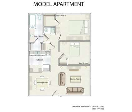 2 Beds - Lake Park Apartments at 4950 South 350 East in Ogden UT is a Apartment
